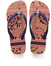c6f6f1a93165 Amazon.fr   Rose - Tongs   Chaussures femme   Chaussures et Sacs