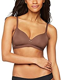 Iris & Lilly Reggiseno Imbottito Senza Ferretto Body Smooth Donna