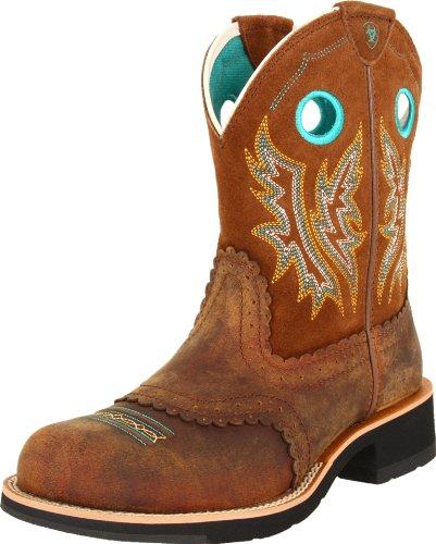 Ariat , Bottes et bottines cowboy femme Brown Tan