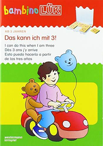 bambinoLÜK-System: bambinoLÜK: Das kann ich mit 3!: Einfachste Übungen für Kinder ab 3 Jahren