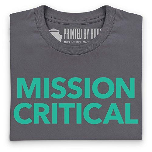 Mission Critical T-Shirt, Herren Anthrazit