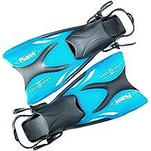 Aqua Lung Schwimmflossen/Schnorchelflossen Flame Junior für Kinder, Sport