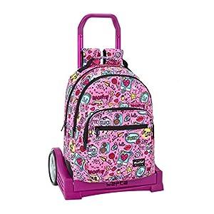 Blackfit8-Equipaje-Equipaje para niños, Color rosa (Safta 641940861)