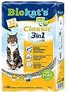 Biokat's Classic 3in1 Katzenstreu | verschiedene Korngrößen für feste Klumpen und schnelle Geruchsbindung | 1 Sack (1 x 10 L)