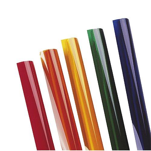 Slv sfl - Gelatina para proyector par 500w rojo
