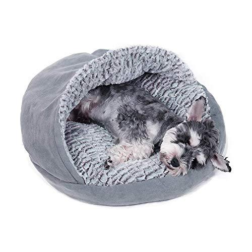 PAWZ Road Hochwertiges Katzen Katzenkissen Hundekissen Hundebett Katzenbett für Katzen Welpen und kleine Hunde Grau