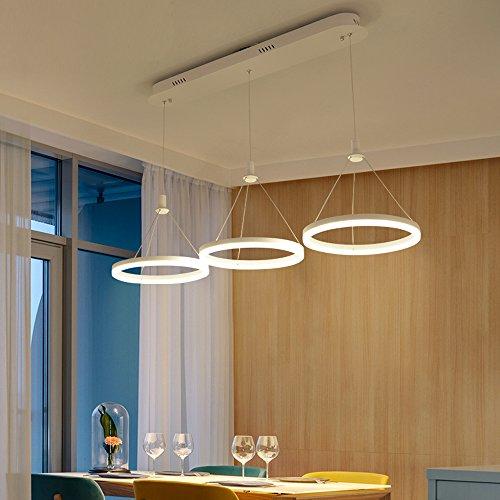 LED Chrom Pendel Leuchte Ess Zimmer Hänge Lampe höhenverstellbar Glas Strahler