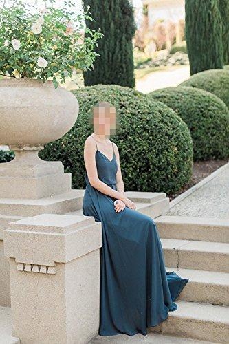 Promworld Damen A-Linie Kleid Schwarz