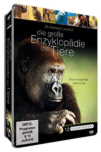 Die große Enzyklopädie der Tiere - Limitierte Deluxe Metallbox [12 DVDs] Enzyklopädie Des Dokumentarfilms
