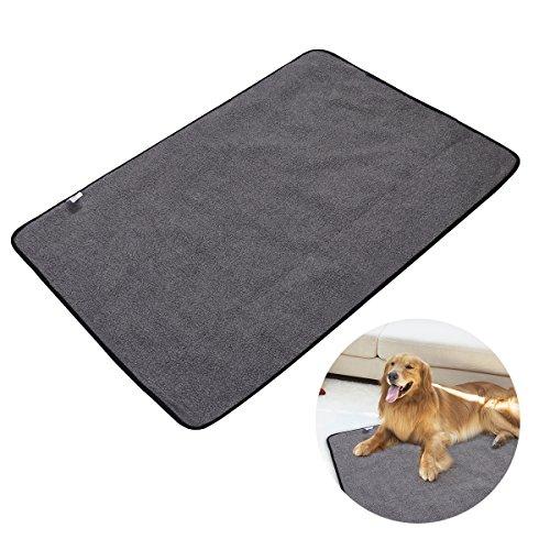 UEETEK Faltbare wasserdichte Haustier Decke Camping Decke, Hund Katze Matte Warming Decke mit Tragetasche für Hunde und Katzen 100 * 70CM Test