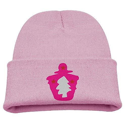 Weihnachtsbaum Sterne Urlaub Cupcake Beanie Caps Strickmütze Winter Warm Baby Girl (Cupcake Mützen Für Erwachsene)