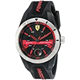 Ferrari 830253 'RED Rev T' Quartz Resin and Silicone Watch