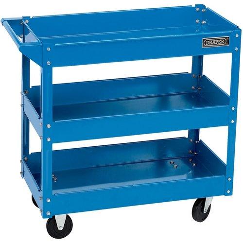 Draper 07630 - Carrito portaherramientas con ruedas 3 bandejas