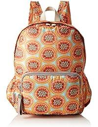 Oilily - Enjoy Passion Fruit Backpack Lvz, Bolsos mochila Mujer, Naranja (Orange), 13x40x30 cm (B x H T)
