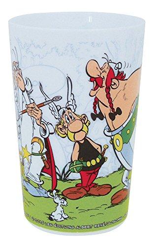 FUN HOUSE 005305 Asterix Verre pour Enfant, PP, Blanc, 6,5 x 6,5 x 10 cm