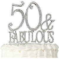 Compleanno 50 Anni Topper Per Torte Utensili Decorativi Casa E