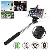 Produkt-Bild: Porum Selfie-Stick für Smartphones, verkabeltes Handhled Einbeinstativ, Selfie-Stange, ausziehbarer Selfie-Stab mit Verstellbarer Halterung für Honor 7X