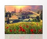 Landschaftsbild als Kunstdruck 'Carpathians' 60 x 80cm auf Leinwand und Holzkeilrahmen. Beste Qualität - Handgefertigt in Deutschland.
