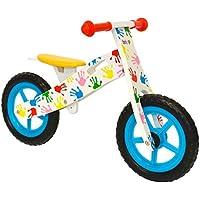boppi® Bici senza pedali in legno 2-5 anni - Mani Stampate