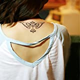 Zokey Wasserdicht Körper Temporäre Tattoo Aufkleber Flügel WS101