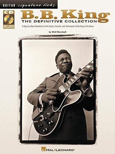 King, Bb Definitive Collection Guitar Signature Licks (Book & CD): Sammelband, CD für Gitarre: The Definitive Collection