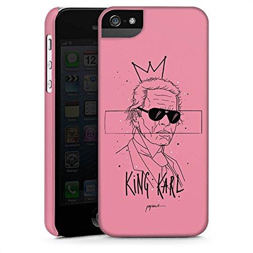 Apple iPhone X Silikon Hülle Case Schutzhülle Karl Lagerfeld Mode Sonnenbrille Premium Case StandUp