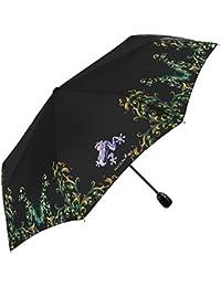 Paraguas plegable con apertura y cierre automático - Paraguas mini ligero y antiviento, con estructura