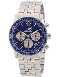 Ingraham Herren-Armbanduhr XL Atlanta Chronograph Quarz Edelstahl IG ATLA.1.611105