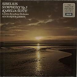 Symphony No. 5 In E Flat Major, Op.82 Karelia Suite, Op.11