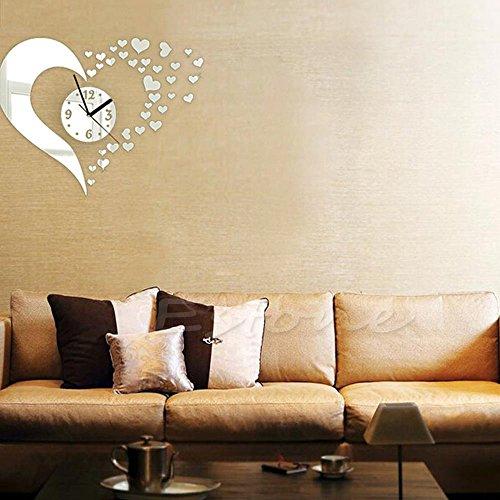 Silver Heart Home Decor: Amazon.co.uk