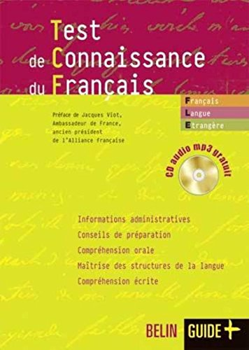Test de connaissance du franais (1CD audio MP3)