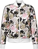 Converse Linear Floral Track Jacket White Multi Damenjacke, Weiß (White Multi) S weiß (White Multi)