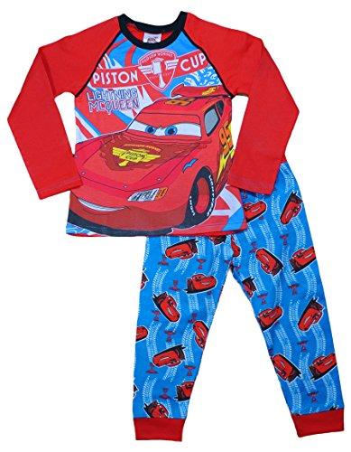 Image of Boys Disney Pixar Cars Lightning Mcqueen Pyjamas 2 to 5 Years W15 (4-5 Years)