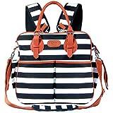 2018 Chic Mommy Baby Backpack Diaper Bag For Girls - XL Convertible Designer Tote - Messenger - Stroller Organizer New Born Bags (2018-model)