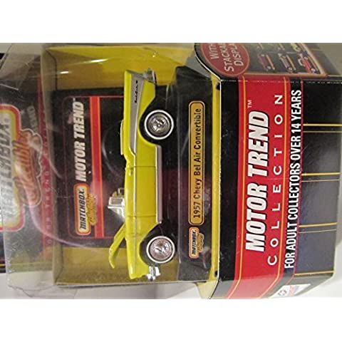 1957 Chevy Bel Air Convertible Matchbox Collectibles Motor Trend Collection by Mattel