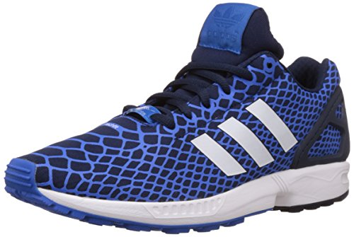 adidas ZX Flux Techfit Herren Sneakers Blau (Bluebird/Collegiate Navy/Ftwr White)
