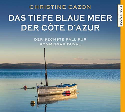 Das Tiefe Blaue Meer der Cote d'Azur