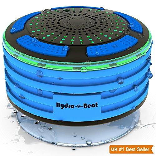 2016Bluetooth hydro-beat Beleuchtung tragbar Wireless Funk Lautsprecher vollständig wasserdicht, staub und stoßfest 100% Geld zurück-Garantie, Jedes Bluetooth-Gerät mit Leichtigkeit. Auf der Go in jedem Ort funktioniert sogar Unterwasser. Ideal für Badezimmer, Schlafzimmer, innen und außen.