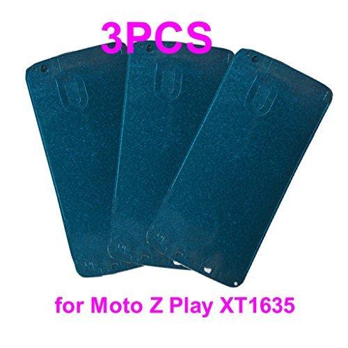 vorgeschnittenen Front Rahmen Frontplatte, Digitizer Glas Klebstoff Klebeband für Motorola Moto Z Play xt1635+ phonsun Portable Handy Halterung Motorola Cell Phone Faceplates