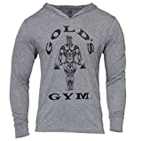 Golds Gym Tri Blend Hoodie, Farbe: VINTAGE GREY MARL, Gr: LARGE