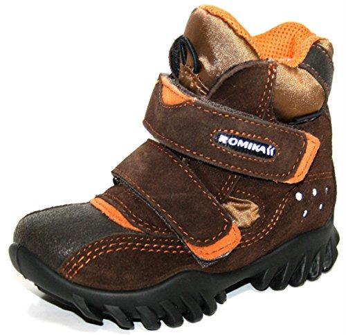 Romika Chaussures pour enfants Mounty 04garçon Demi Bottes & Bottines pour femme Marron - Braun (Moro/Natur)