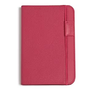 Amazon Kindle Keyboard Leather Cover, Hot Pink (will only fit Kindle Keyboard)