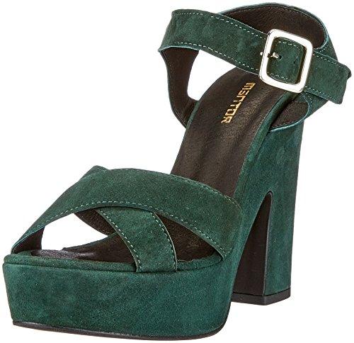 Mentor Pump Sandal, Escarpins à Plateforme Femme Grün (Green)