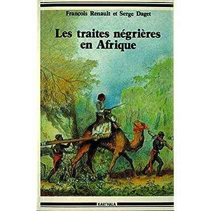 Les traites négrières en Afrique (Hommes et sociétés)