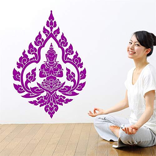 Alle Wandtattoos Buddhistischer Buddhismus Wandaufkleber Home Room Art Dekoration Abnehmbare Fototapete 56x89cm