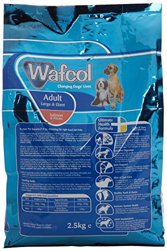 Wafcol Adult Sensitive Dog Food - Salmon & Potato - Grain Free Dog Food for Large and Giant Breeds - 12 kg Pack 4