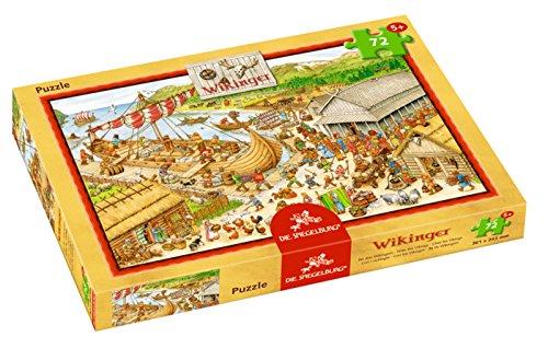 Spiegelburg 12013 Boxpuzzle - los vikingos (72 piezas)
