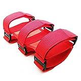 Kobwa Verstellbare Roll Bar Feuerlöscher Halterung für Jeep Wrangler, rot