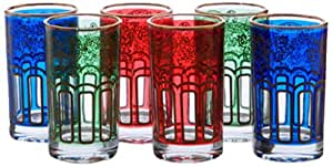 Silea 234/4029 Set de 6 Verres à The Casbah