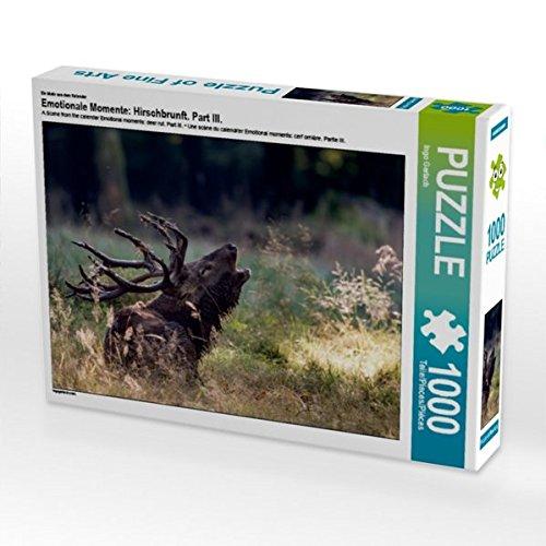 Ein Motiv aus dem Kalender Emotionale Momente: Hirschbrunft. Part III. 1000 Teile Puzzle quer (CALVENDO Tiere)
